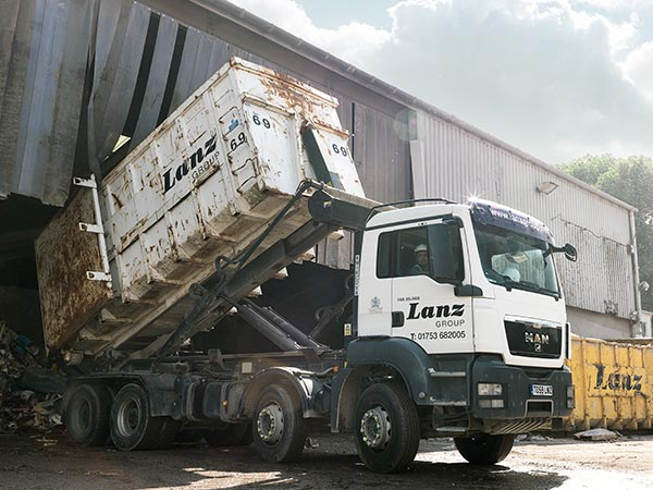 A rolonof lorry from Lanz Group