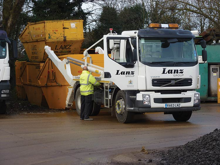 Lanz Group offers skip hire across the Thames Valley