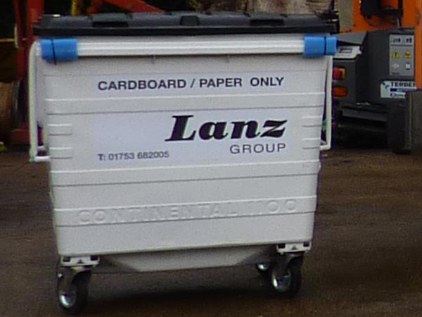 Wheelie bins from Lanz Group
