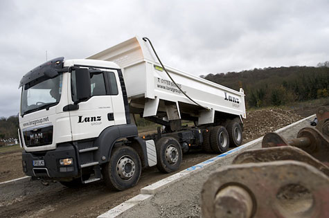 Lanz Group's rubbish lorry
