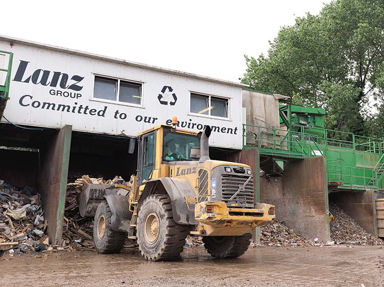 waste recycling transfer station
