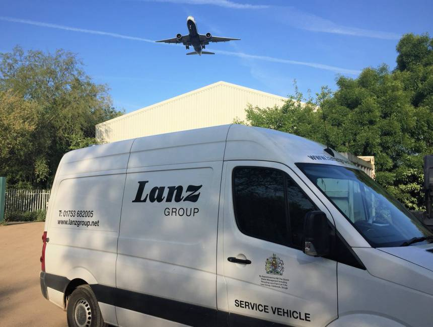 Lanz Group Van and depot